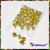 Jingle Bells: 5/8 Inch Gold Bells 36 Piece Bag
