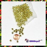 Jingle Bells: 6mm Gold Bells 144 Piece Bag