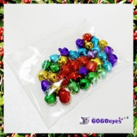 Jingle Bells: 7 mm Jewel Tone Bells 36 Piece Bag