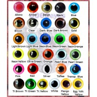 YOU CHOOSE 6mm Color Amigurumi eyes, Plastic eyes, Safety eyes, Animal Eyes, Round eyes