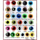 YOU CHOOSE 18mm Mixed Color Plastic eyes, Safety eyes, Animal Eyes, Round eyes
