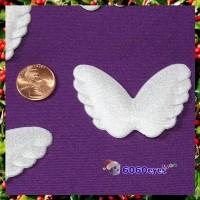 Angel Wings: 6 Pack of 2 1/4 Inch (57.15mm) White Wings