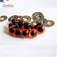5 PAIRS 10.5mm Amber Plastic eyes, Safety eyes, Animal Eyes, Round eyes