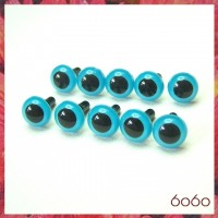 5 PAIRS 10.5mm Blue Plastic eyes, Safety eyes, Animal Eyes, Round eyes