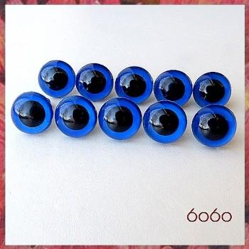 5 PAIRS 10.5mm Dark Blue Plastic eyes, Safety eyes, Animal Eyes, Round eyes