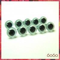 5 PAIRS 10.5mm Pearl Blue Plastic eyes, Safety eyes, Animal Eyes, Round eyes