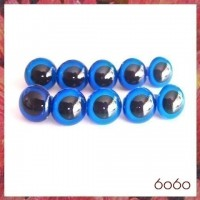 5 PAIRS 12mm Dark Blue Plastic eyes, Safety eyes, Animal Eyes, Round eyes