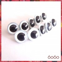 5 PAIRS 15mm Pearl Blue Plastic eyes, Safety eyes, Animal Eyes, Round eyes