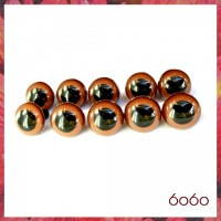 5 PAIRS 18mm Brown Plastic eyes, Safety eyes, Animal Eyes, Round eyes