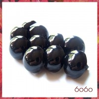 5 PAIRS 24mm Black Plastic eyes, Safety eyes, Animal Eyes, Round eyes