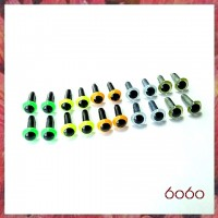 10 Pairs 4.5mm MIXED COLOR eyes--MIX2