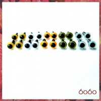 10 Pairs 4.5mm MIXED COLOR eyes--MIX5