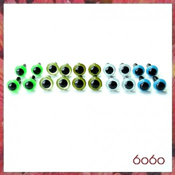 10 Pairs 4.5mm MIXED COLOR eyes--MIX6