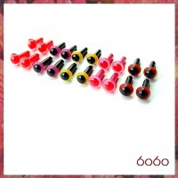 10 Pairs 4.5mm MIXED COLOR eyes--MIX7