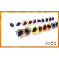 10 Pairs 9mm MIXED Plastic Cat eyes, Safety eyes, Animal Eyes, Round eyes (9MSC1)