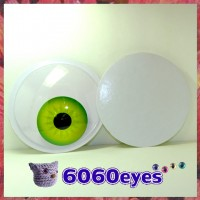 6 inch (154.4mm) Peel and Stick Human Eyes Style craft eyes, animal eyes, wiggly eyes