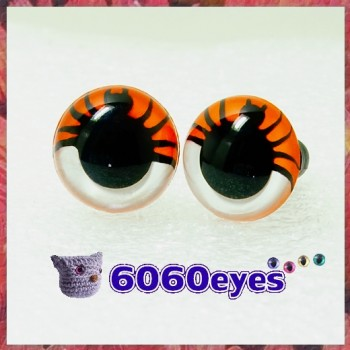 1 Pair 12mm/15mm/18mm Spider Plastic eyes, Safety eyes, Animal Eyes, Round eyes