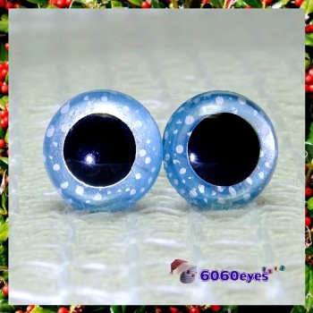 1 Pair  Snowfall Hand Painted Eyes Safety Eyes Plastic Eyes