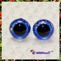 1 Pair  Hand Painted Starfall Eyes Safety Eyes Plastic Eyes