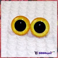 1 Pair Sunshine Hand Painted Safety Eyes